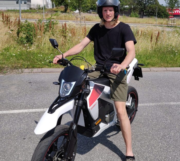 Viarelli Supermotard Electric elmoped